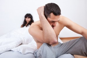 Young Couple In Quarrel At Home